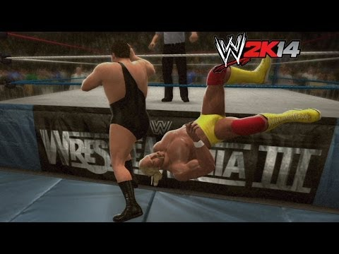 WWE 2K14 How To Hulk Hogan vs. Andre the Giant at WrestleMania 3