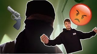 FAKE ROBBERY PRANK **HE WAS SO SCARED**