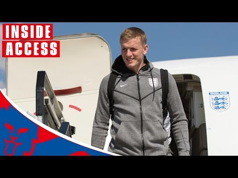 Xxx Mp4 England Players Arrive Home From 2018 World Cup Inside Access World Cup 2018 3gp Sex
