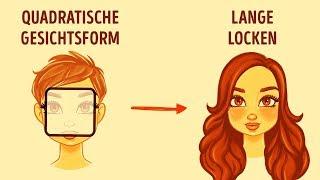 So findest du die beste Frisur für dein Gesicht