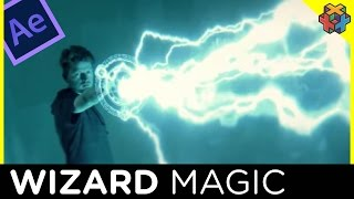 After Effects Tutorial - Wizard/Mage Magic Effect