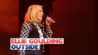 Ellie Goulding - 'Outside' (Live At Jingle Bell Ball 2015)
