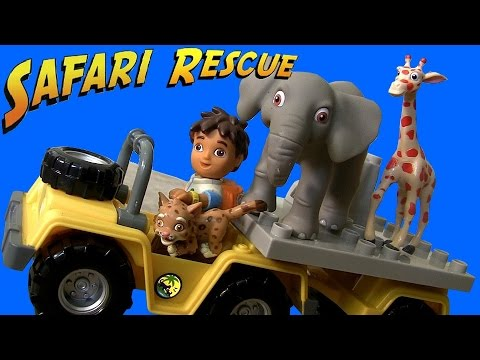 MegaBloks Diego s African Safari Playset from Nickelodeon Go Diego Go Building Blocks