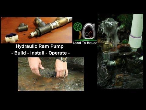 Hydraulic Ram Pump Build Install Operate