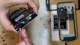 Desmontando Samsung Gran Prime duos TV G530 Tela touch display