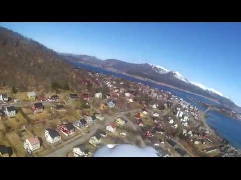 RC Cessna 350 Corvalis test flight Stokmarknes