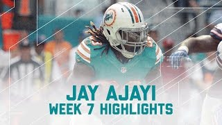 Jay Ajayi Rushes for 214 Yards! (Week 7 Highlights) | Bills vs. Dolphins | NFL