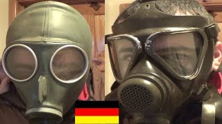 My German gas mask collection