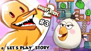 The New Pork City ANGRY BIRDS 2 Adventure!  Duck Power! (A Let's Play Narrated Story by FGTEEV Pt 3)
