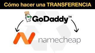 Cómo hacer una transferencia de dominio de GoDaddy a Namecheap