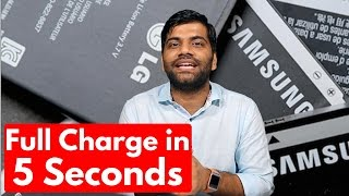 Charge your Phone in 5 Seconds | Graphene Supercapacitor