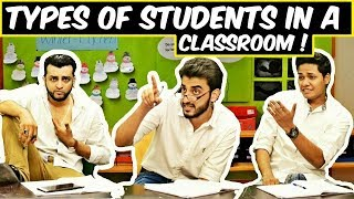Types of Students in a Classroom l Funny Indian Schools