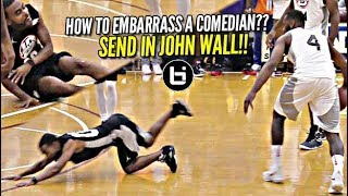 John Wall Sends Lil Duval to Floor FACE FIRST in Front of Ludacris & Packed House! (MUST WATCH)