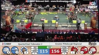 Quarterfinal Tiebreaker 2 - 2017 Greater Pittsburgh Regional