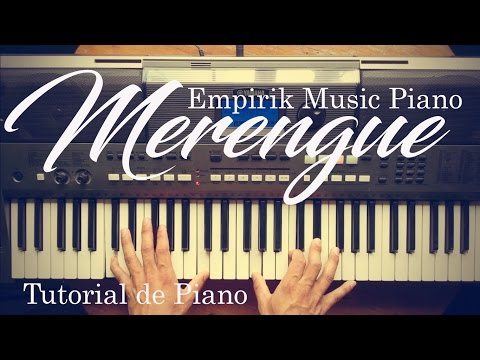 Merengue Sabroso Tutorial de Piano Tips bien Explicados