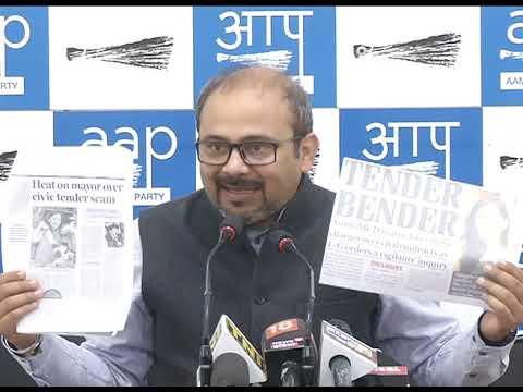 Xxx Mp4 Aap Leader Dilip Pandey Briefs Media On Tender Cam Involving BJP North MCD Mayor 3gp Sex