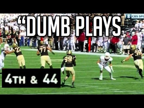 Dumbest Plays in Football History HD