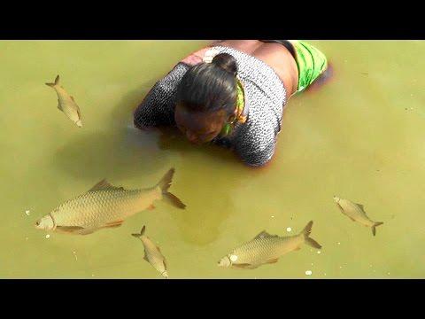 Wow! AMAZING Fishing at India Village Maharashtra - Indian Traditional Fishing | India Fishing Net