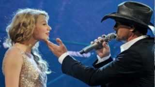 Tim McGraw Ft Taylor Swift Highway Don't Care Live Grammys 2014