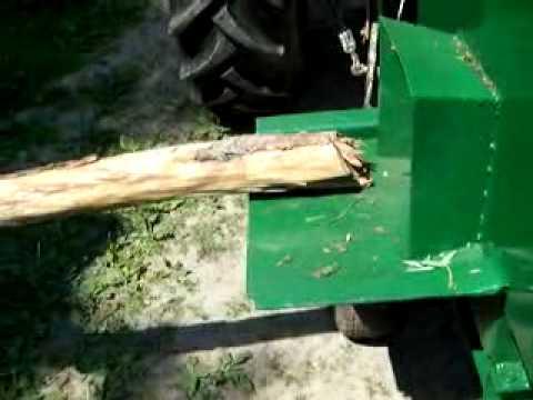 Rębak do cięcia grubego drewna