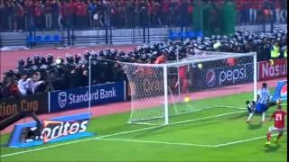 ملخص مباراة الأهلي وسيوي سبور نهائي الكونفدرالية 6-12-2014 (صوت الجمهور)