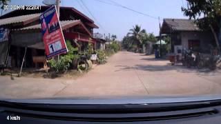 โนนดินแดง Non Din Daeng Streets with Car  2014
