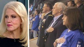 Kellyanne Conway on Pence leaving NFL game, Trump vs. Corker