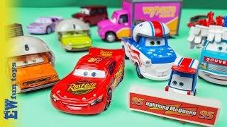 Disney Pixar Cars Diecast Toys Part 19 McQueen Mater Stunt New カーズ 2016