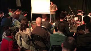Mark Schilders workshop Poly Currents op de Codarts Bass & Drum Masters dag