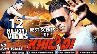 Best Scenes Of Khiladi | Akshay Kumar | Ayesha Jhulka | Superhit Bollywood Comedy & Action Scenes