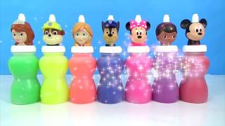 DISNEY MICKEY MINNIE MOUSE, Paw Patrol, Sofia The First, Doc McStuffin, SLIME TOY SURPRISES