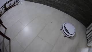 ILIFE V3s Robot Vacuum in Action