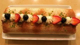 Cake Roll رولت خامه ای