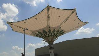 LIEBHERR - 600 To. - Sonnenschirm für Mekka - Umbrella for Mecca - مظلة لمكة المكرمة