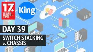 200-125 CCNA v3.0 | Day 39: Switch Stacking vs Chassis | Free Cisco Video Training 2018 | NetworKing