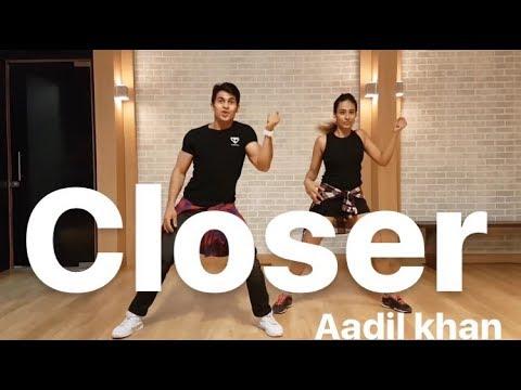 |Zumba| The Chainsmokers-Closer ft.Hasley|Zumbafitness| Aadil khan & Padmavati iyenger