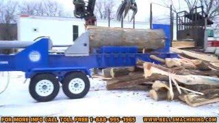 Bell's Machining's Super Log Splitter (Non adjustable 4 way splitting wedge Version)