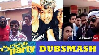 Kirik Party Movie Team Funny Dubsmash | Kirik Dubsmash | Rakshit | Samyuktha | Rashmika | Rishab |