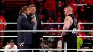 Triple H vs Brock Lesnar SummerSlam 2012 Official Promo