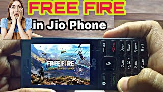 How To Download FREE FIRE Game in Jio Phone , New Update 2019 in Jio phone