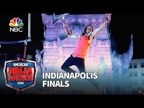 Jake Murray at the Indianapolis Finals American Ninja Warrior 2016