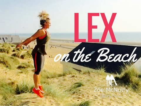 Lex (Legs) on the Beach | Legs Bums Tums | #ToneTuesday with Zoe McNulty | Episode 11