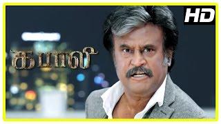 Kabali Tamil Movie Scenes | Rajini destroys Winston's business | Rajini kills Kishore | Radhika Apte