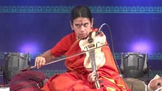 8th Annual Music Festival 2017 - Samagana Dhanvantri Concert Series - Violin Solo by Kanyakumari