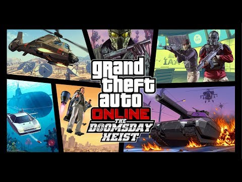 Xxx Mp4 GTA Online The Doomsday Heist Official Trailer 3gp Sex