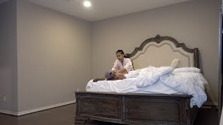 CAUGHT IN THE BED WITH YOUR WIFE PRANK ON CHRIS!!! (STARTS CRYING)