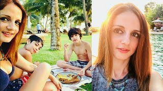 Hrithik Roshan Ex Wife Sussanne Khan Enjoying Spring Vacation In Goa With Family | Sussanne Khan