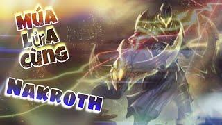 LIÊN QUÂN MOBILE | Funny Gaming Tv cầm Nakroth giao lưu cùng Fan múa lửa troll Team Địch!