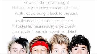 5sos - Everything I Didn't Say ( traduction française + lyrics )