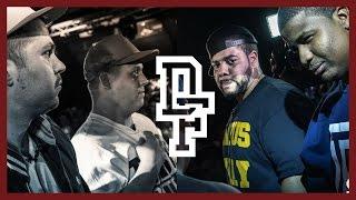 DNA & CHARLIE CLIPS VS CHRIS LEESE & UNANYMOUS | Don't Flop Rap Battle